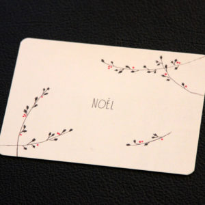 "Postkarte ""Noel"""