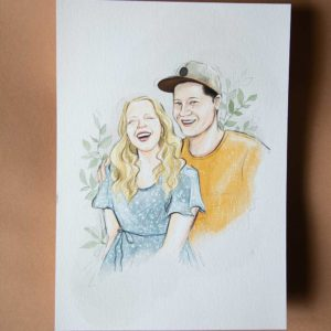 Portrait-Illustration